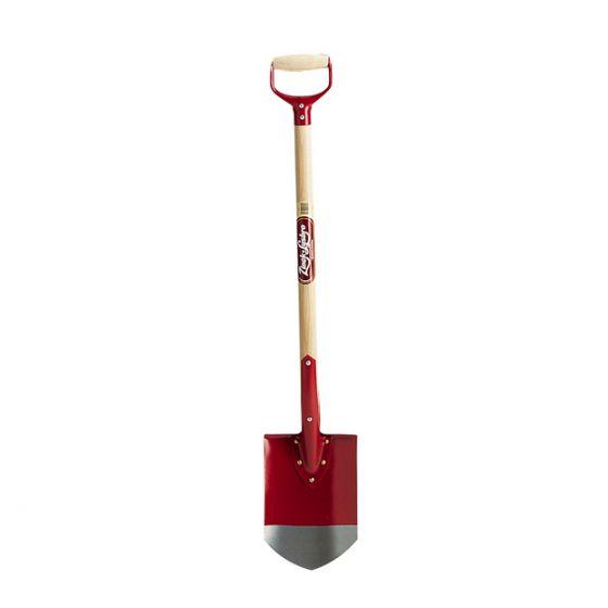 Pointed garden spade