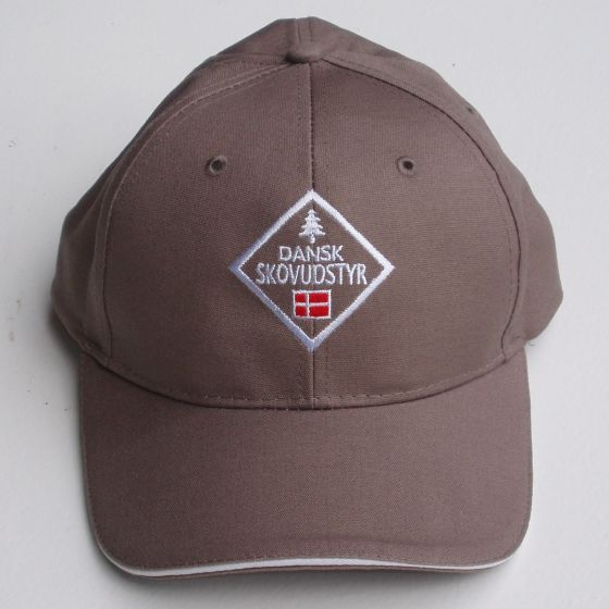 Cap with the Danish Forest Equipment logo beige