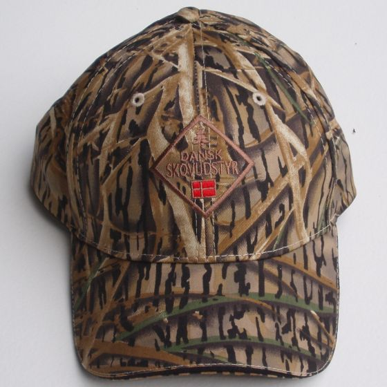Cap with the Danish Forest Equipment logo CAMO