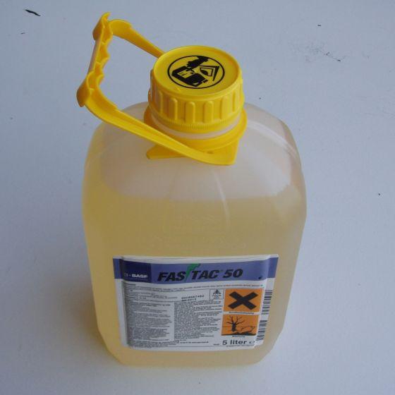 Fastac 50. 5 liter (50 g/l alpha-cypermethrin)