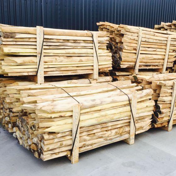 Acacia 1/2 poles stakes debarked pointed