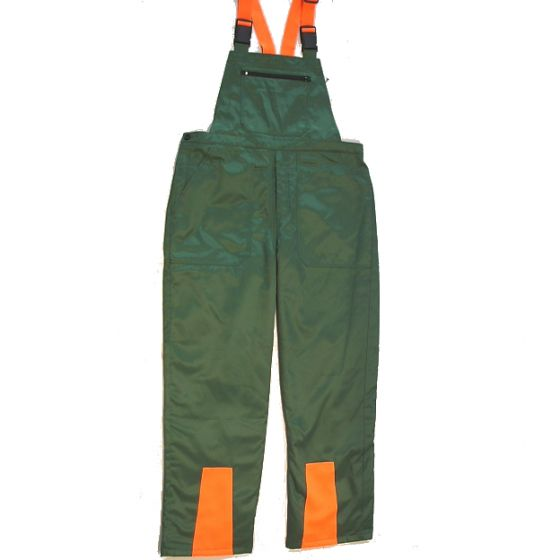 Safety overalls for chainsaw