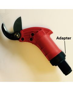 Adapter for pneumatic pruning shears