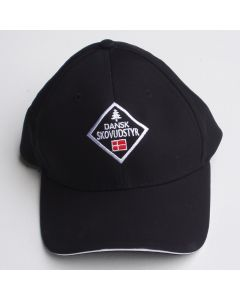 Cap with the Danish Forest Equipment logo black