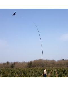 Hawk Bird Scarer with 10 meter Telescopic pole 14m/s