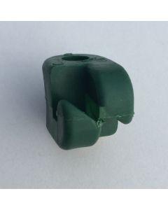 Isolator 8 mm. til tentorpæl 100 stk.