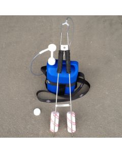 Chemistry rod ( angle ) with bottle and pump