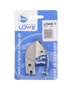 Cut, anvil and spring for Løwe