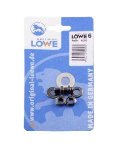 Bolt, nut kit for Løwe 6 secateurs