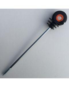 Screw insulator 18 cm. 10 stk.