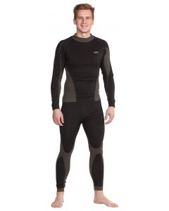 poly dacron undershirt with long sleeves