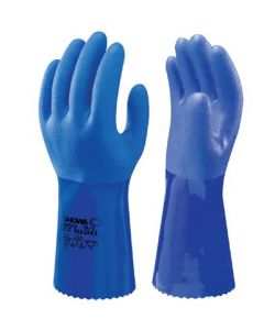 Glove Showa oil Resist 30 cm Blue Size. 10