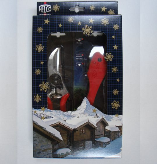 Felco 6 and FELCO 600 Folding Saw in gift box.